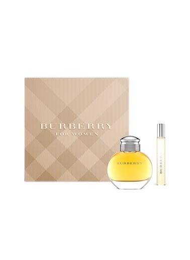 Burberry Classic EDP 50ml + EDP 7.5ml Kadın Parfüm Seti Renksiz